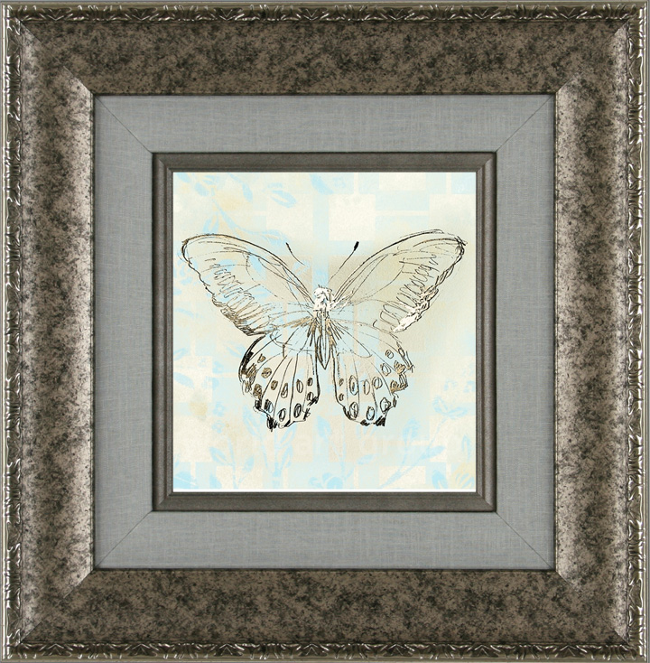 Butterfly Blossom Tile II