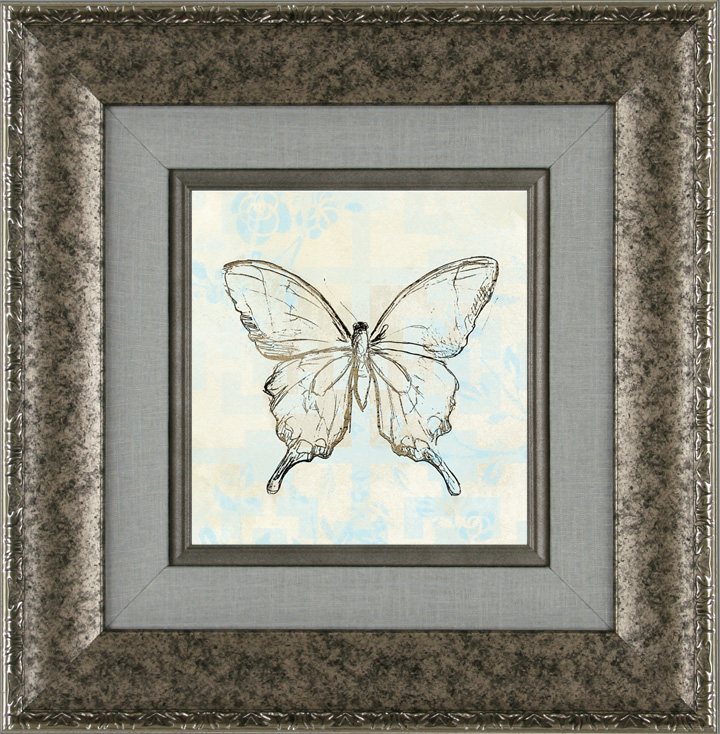 Butterfly Blossom Tile III
