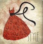 Style Red Dress