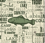Trout Typography