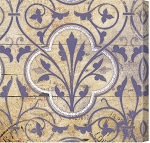 Purple Pattern Tile 2