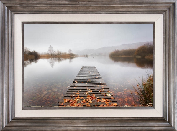 Misty English Lake