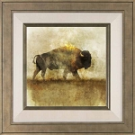 Peaceful Bison I