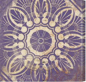 Purple Pattern Tile 1